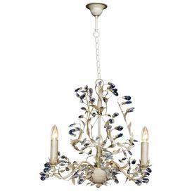 image-Clemmer 3-Light Candle-Style Chandelier Astoria Grand Finish: Beige & Gold