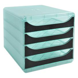image-Mcdermott Desk Organiser Symple Stuff Colour: Light Green/Black
