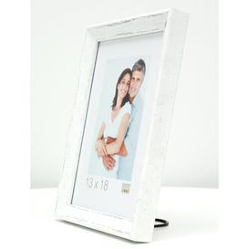 image-Mineral Picture Frame Beachcrest Home Colour: White, Size: 32cm H x 32cm W x 2cm D