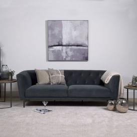 image-Baron 3 Seater Sofa - Grey