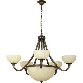 image-Hammersdale 8-Light Shaded Chandelier Ophelia & Co.
