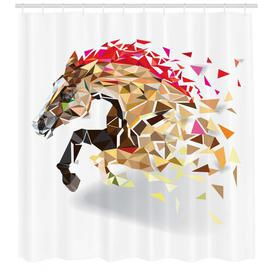 image-Horse Shower Curtain East Urban Home Size: 240cm H x 175cm W