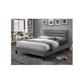 image-Limelight Beds Picasso Fabric Bedframe,Grey