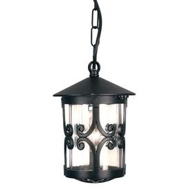 image-Elstead BL13B Hereford exterior black porch chain lantern, IP23