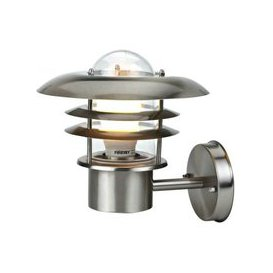 image-Stainless Steel Modern Garden Outdoor Security Wall Light