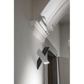 image-Tubes 2-Light LED Wall Spotlight Nemo Finish: White/Grey
