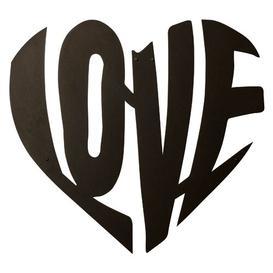 image-Love Heart Geometric Metal Wall Décor Happy Larry