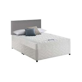 image-Silentnight - Miracoil Serenity Microquilt Divan Set - Pocket Spring - Double - White