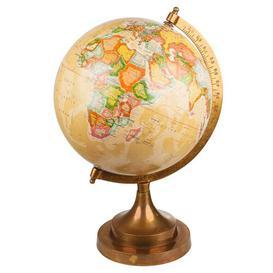 image-Palmetto World Globe Rosalind Wheeler Size: 35cm H x 20cm W x 20cm D