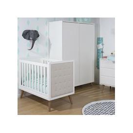 image-Retro Rio Nursery Furniture Set in White