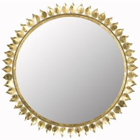 image-Bartel Sunburst Accent Mirror Canora Grey
