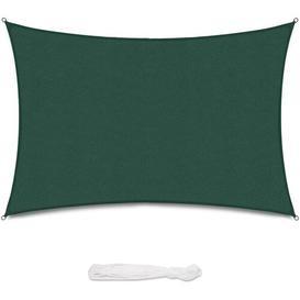 image-Cliona Rectangular Shade Sail Sol 72 Outdoor Colour: Green, Size: 500cm W x 300cm D