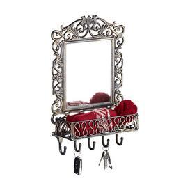 image-Wall Key Rack Fleur De Lis Living