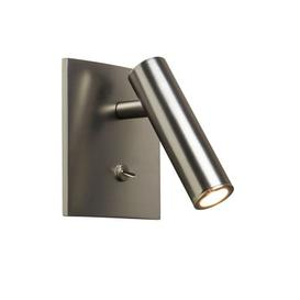 image-Enna Square LED Wall light - / Adjustable reading light - Switch by Astro Lighting Metal