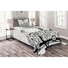 image-Fuhrman Girls Bedspread Set with Cushion Cover Ebern Designs