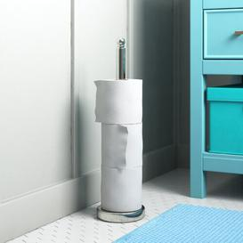 image-Talbott Free Standing Toilet Roll Storage Holder Wayfair Basics