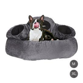 image-Kenton Bolster Cushion Archie & Oscar Size: 42cm H x 75cm W x 75cm D, Colour: Grey/Black