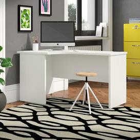 image-Derry Corner Desk Mercury Row Colour: White, Size: 75 cm H x 180 cm W x 80 cm D