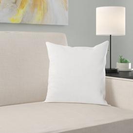 image-Cull Cotton Cushion Pad Symple Stuff Size: 66cm H x 66cm W