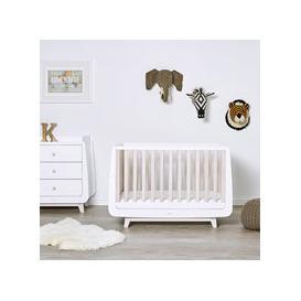 image-Snuzkot Luxe 2 Piece Nursery Furniture Set - White