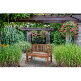 image-Rockland Wooden Bench Sol 72 Outdoor Size: H92 x L59 x W120cm