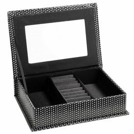 image-Snake Effect Jewellery Box Symple Stuff Colour: Black