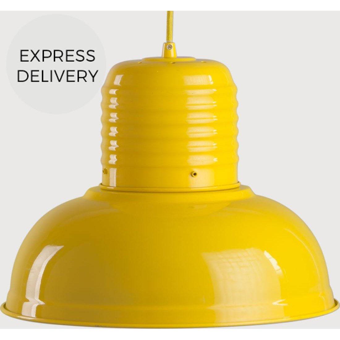 image-Jackson Pendant Light, Gloss Yellow