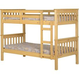 image-Neptune 3' Bunk Bed in Oak