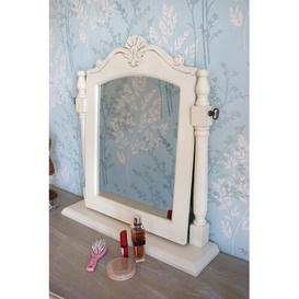 image-Clare Arched Dressing Table Mirror Lily Manor