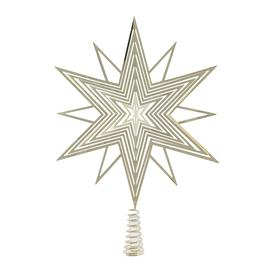 image-A by AMARA Christmas - 3D Star Tree Topper - Gold