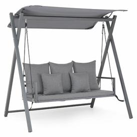 image-Lambalot Swing Seat with Stand Sol 72 Outdoor Colour: Grey
