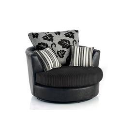 image-Swivel Tub Chair Brayden Studio