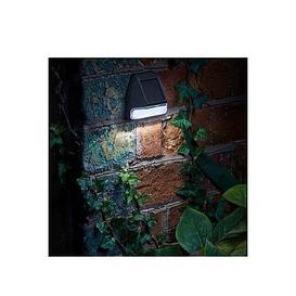 image-Smart Solar Fence Wall And Post Light (4 Pack)