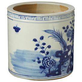 image-Shanren Planter - Blue/White