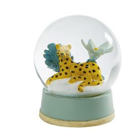 image-Multicoloured Cheetah Snow Globe