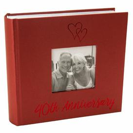 image-40th Wedding Anniversary Photo Album The Party Aisle