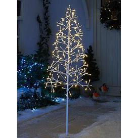 image-Outdoor/Indoor Starburst Twig Christmas Tree &Ndash 5 Ft