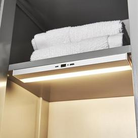 image-Status LED Cabinet Light Silver