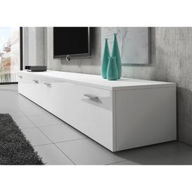 """image-Forsman TV Stand for TVs up to 88"""" Metro Lane Colour: White"""