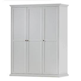 image-Woodburn 3 Doors Wardrobe August Grove Finish: White