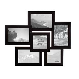 image-Sass & Belle Black Six Photo Multi Frame