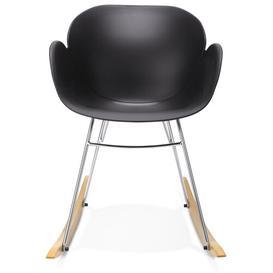 image-Macleod Rocking Chair Brayden Studio Colour: Black