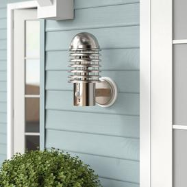image-Hagen 1 Light Outdoor Wall Sconce with Motion Sensor Sol 72 Outdoor