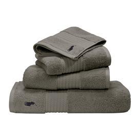 image-Ralph Lauren Home - Player Towel - Pebble - Guest Towel