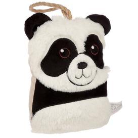 image-Plush Panda Head Interior Door Stop