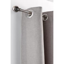 image-Metal Sliced Extendable Curtain Pole