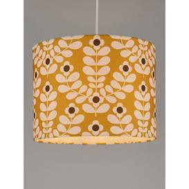 image-Orla Kiely Juniper Stem Lampshade, Yellow