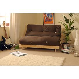 image-Kaitlynn 1 Seater Futon Chair Zipcode Design Upholstery Colour: Chocolate, Size: Single (3')
