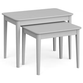 image-Global Home Stowe Grey Painted Nest of Table