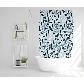 image-Noelle Polyester Shower Curtain Set Longshore Tides Size: 177cm H x 210cm W
